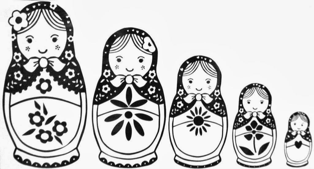Here Are Some Baboushka Coloring Pages And Crafts