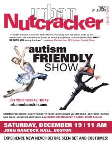 Urban Nutcracker Autism Friendly Flyer