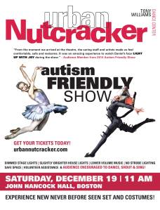 Urban Nutcracker Autism Friendly Flyer