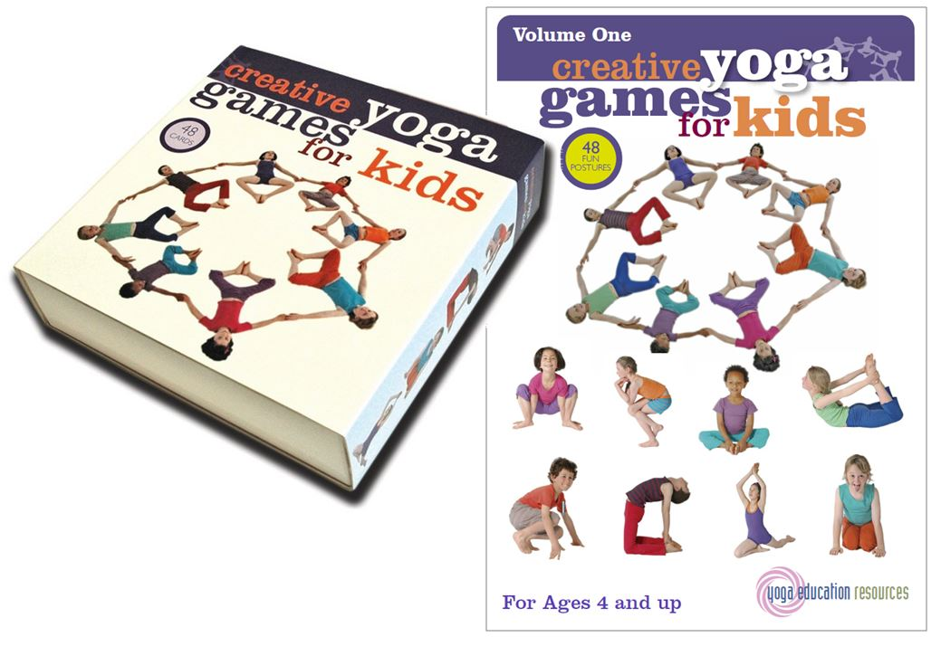 Creative Yoga Games For Kids Volume 1 Boxed Set And Digital Download
